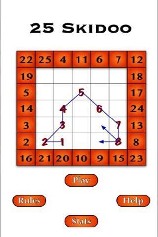 25 Skidoo - Sudoku Style Game