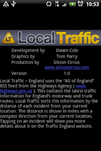 Local Traffic - England- screenshot thumbnail