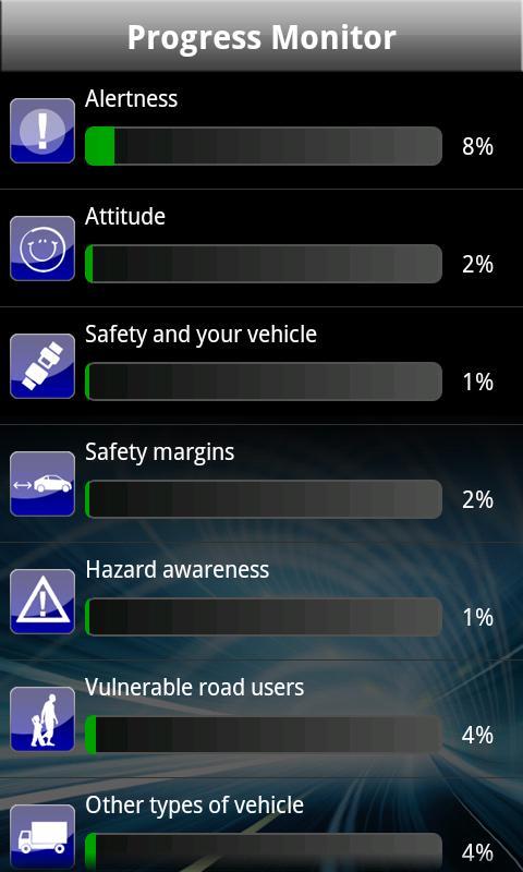Driving Theory Test UK Car - screenshot