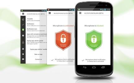 Mic Block - Anti spy & malware Screenshot 22