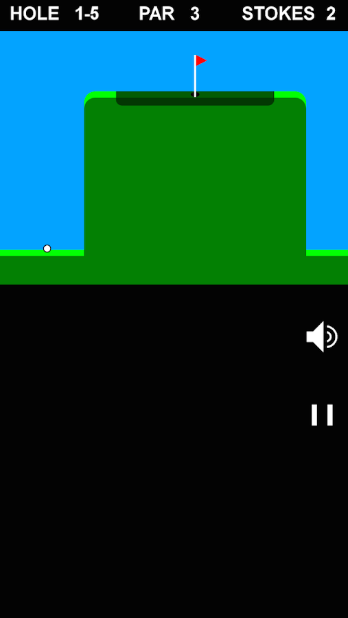 Simple Golf 2D- screenshot