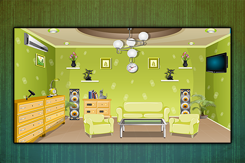 Greenish Room Escape - screenshot
