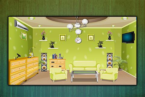 Greenish Room Escape - screenshot