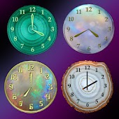 Mineral Clock deluxe