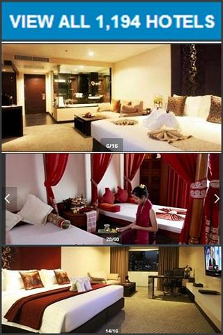 THAILAND HOTEL BOOKING SAVE$$$ - screenshot