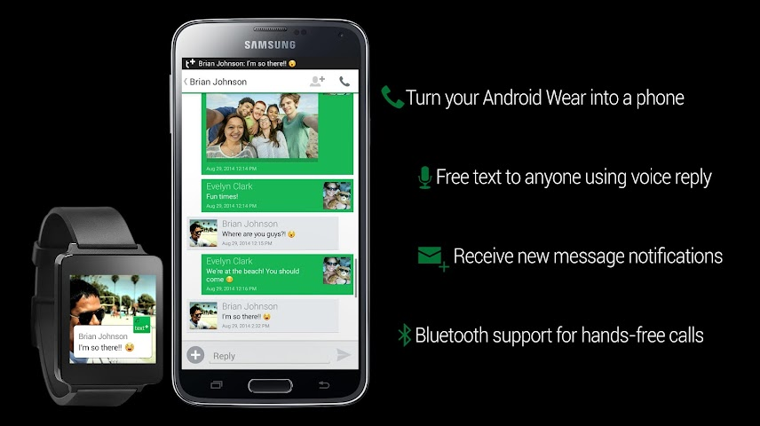 android textPlus Free Text + Calls Screenshot 7