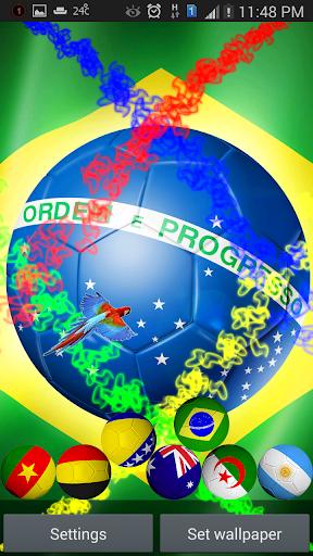 Brazil 2014 Live Wallpaper