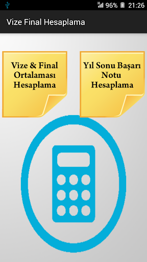 Vize Final Hesaplama