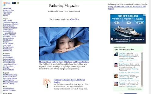 FatherMag.com- screenshot thumbnail
