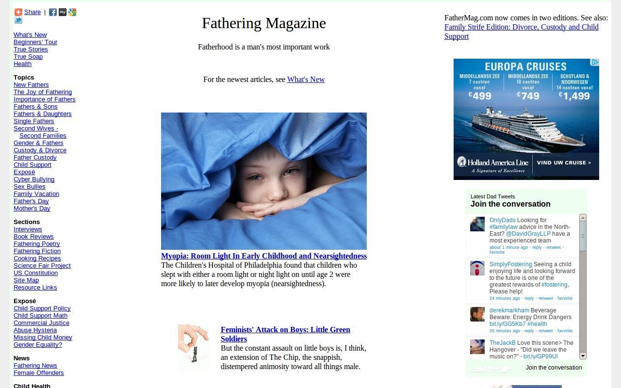 FatherMag.com- screenshot