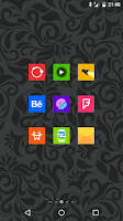 Screenshot of Goolors Square - icon pack