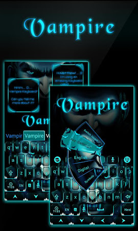Vampire GO Keyboard Theme 3.87 screenshot 640265