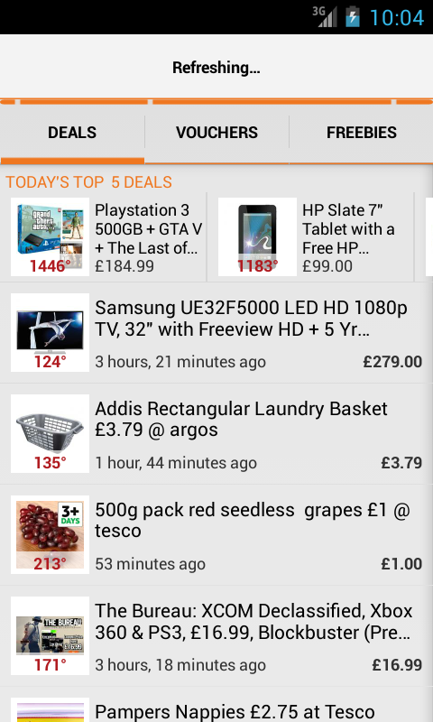 DealPad - UK Deals & Freebies- screenshot