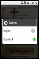 Screenshot of Christian prayers PRO