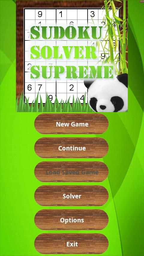 Sudoku Solver Game 9x9 16x16 - screenshot