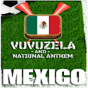 Mexico Vuvuzela and Anthem!!! logo