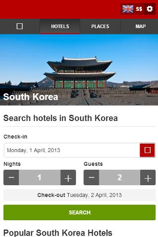 South Korea Hotels - screenshot