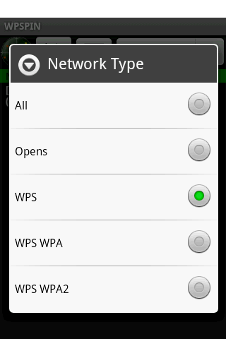 WPSPIN - screenshot