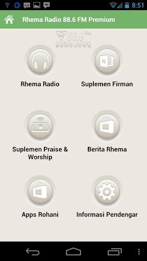Rhema Radio 88.6 FM Premium