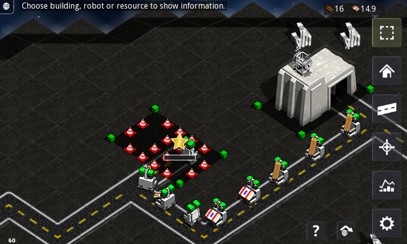 Robotic Planet RTS Lite- screenshot