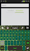 Screenshot of Green Light Keyboard