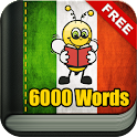 Learn Italian 6,000 Words icon