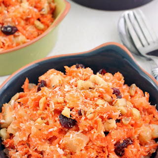 Tropical Carrot Salad Recipe
