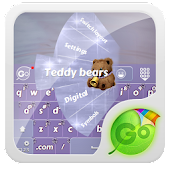 Teddy bears GO Keyboard