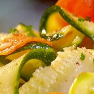 Courgette and Carrot a Scapece Recipe