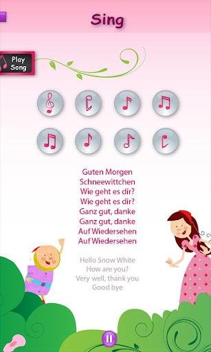 Princesses Learn German