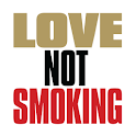 Love Not Smoking: the App logo