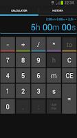 Screenshot of Time Calc