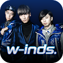 w-inds. Official App logo