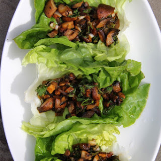 Thai Portobello Wraps.