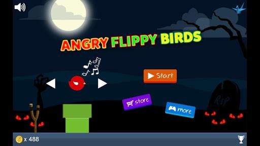 【免費冒險App】Angry Flippy Birds-APP點子