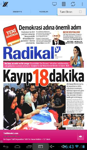 免費下載新聞APP|Radikal Gazetesi Droid app開箱文|APP開箱王