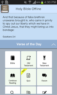 Holy Bible Offline- screenshot thumbnail