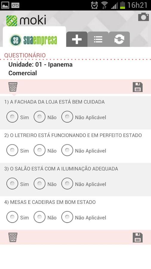 Moki Checklist - #1 Checklist- screenshot