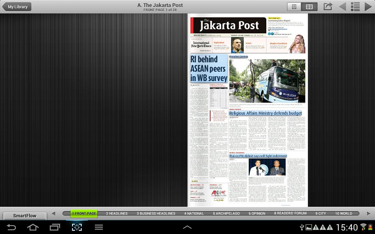 The Jakarta Post Always Bold >> Tenarkan