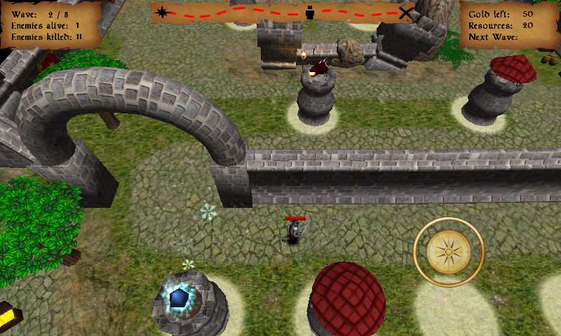 CASTLE TOWERS CLASH takes classic tower defense games to a whole new