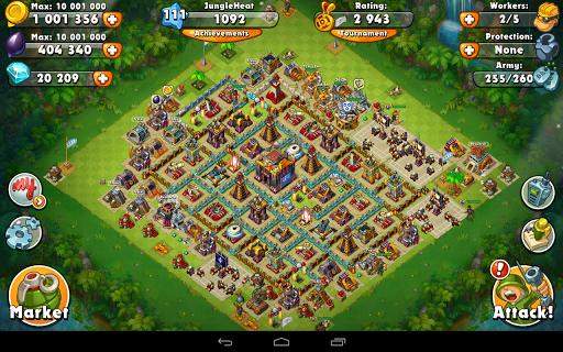 Jungle Heat: War of Clans 2.0.17 screenshots 18
