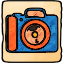Cartoon Camera logo