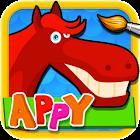 Appy Puzzles - 拼图和色彩为孩子 icon