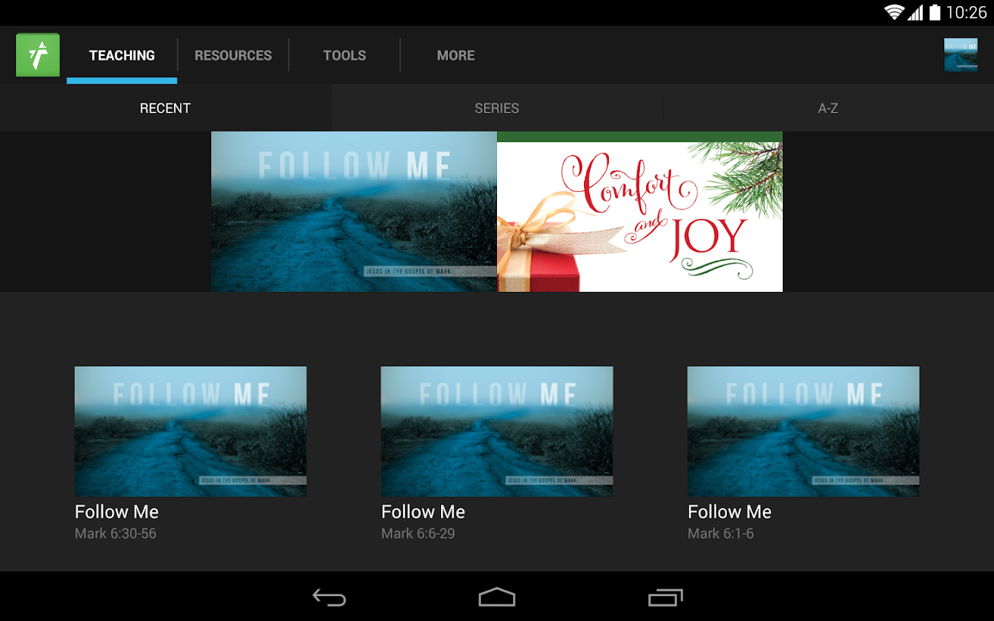 Wheaton Bible Church - screenshot