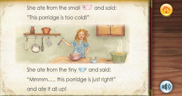 Apprendre l'Anglais:Goldilocks- screenshot thumbnail
