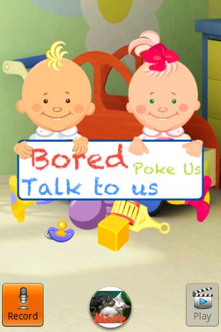 Talking Baby Twins - screenshot