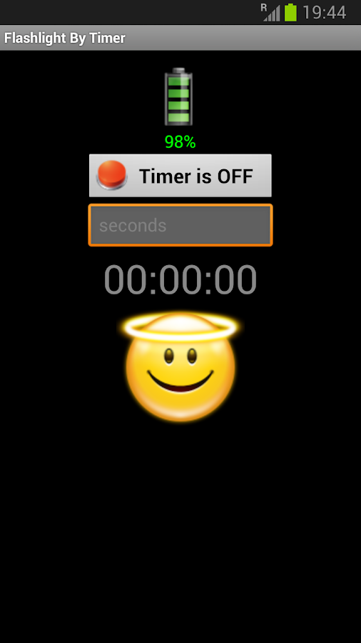 Flashlight by Timer - screenshot