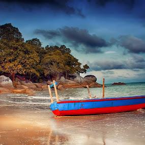 Im love sunset by Ferysetya Ma - Landscapes Beaches