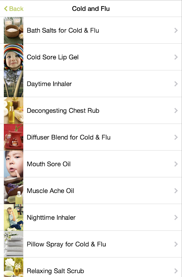 Natural Remedies- screenshot