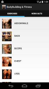 BodyBuilding & Fitness Fitness app screenshot for Android